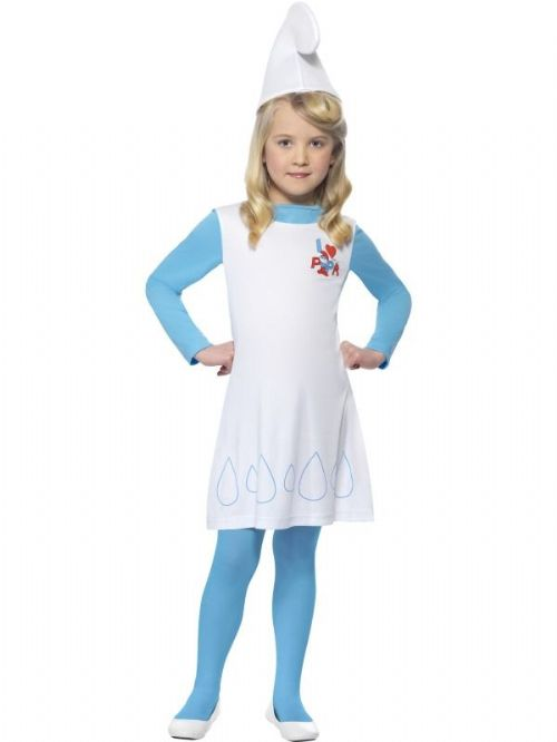 Girl Smurfette Costume